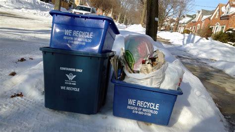 garbage collection kitchener region planning waste collection delays
