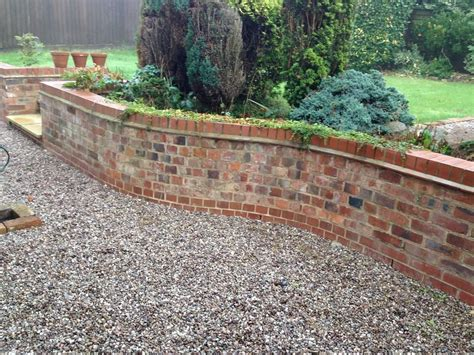 Garden Retaining Wall by Recycled Brick Retaining Wall Search