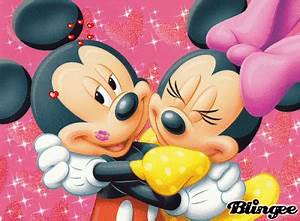 Mickey and Minnie in Love Picture #63198218 | Blingee.com