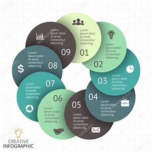 Vector Circle Arrows Infographic  Diagram  Graph  Presentation  Chart  Business Cycle Concept