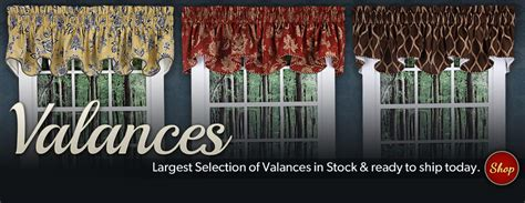 Walmart Curtain Rods Double by Discount Curtains Valances Amp Window Treatments Swags Galore