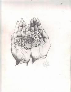 Open Praying Hands Tattoo   Praying Hand Drawings   tatts ...
