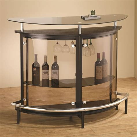 Black Home Bar Furniture by Modern Corner Bar Unit In White Or Black Bar Bar
