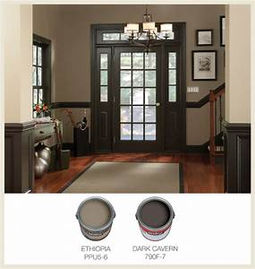 Colorfully, BEHR :: Part 1: Picking Interior Trim Color