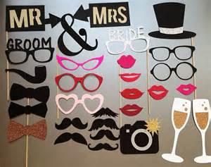 accessoires photobooth mariage mariage photomaton les accessoires photobooth ensemble de 30 autres accessoires par