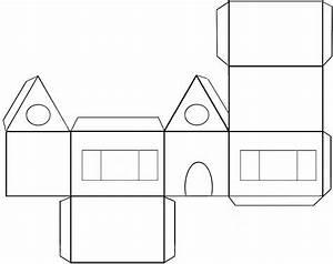 colorier et decorer une maison pain d39epice en papier With beautiful faire une maison en 3d 9 fabriquer un chateau en carton