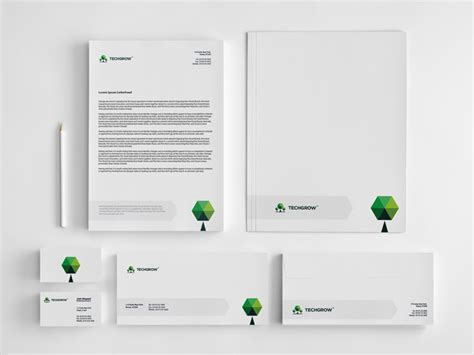 corporate identity business package draward