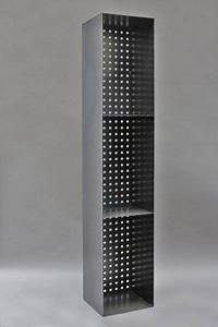 Kaminholzregal Metall Mit Rückwand : kaminholzregal aus 3 mm stahl mit einer r ckwand aus lochblech merken holz regal und ~ Orissabook.com Haus und Dekorationen