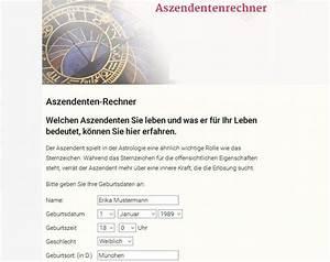 Karma Berechnen Kostenlos : aszendent berechnen kostenlos unkompliziert ~ Themetempest.com Abrechnung