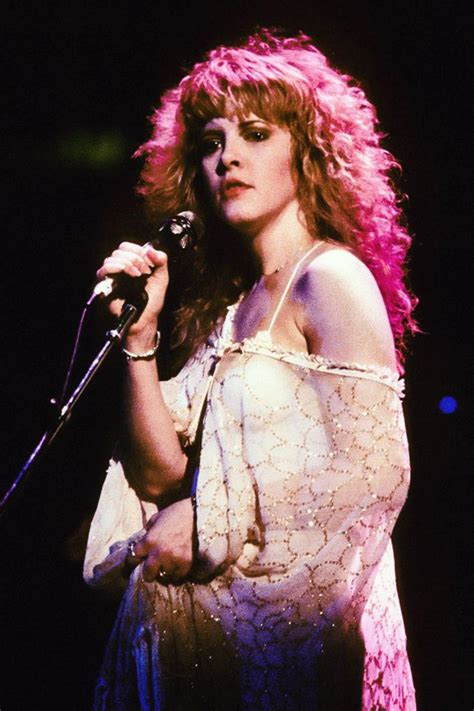 young  beautiful stevie nicks  stage