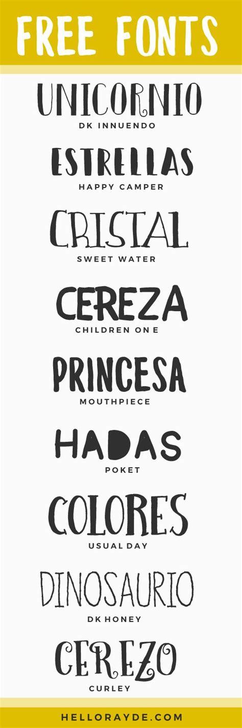 Free Fonts  Typography Pinterest