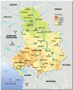 Yugoslavia Europe Map