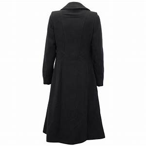 Ladies Wool Cashmere Coat Womens Jacket Long Fashion Warm ...