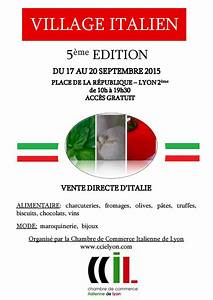 l39italie en france foires salons evenements With chambre de commerce italienne de lyon