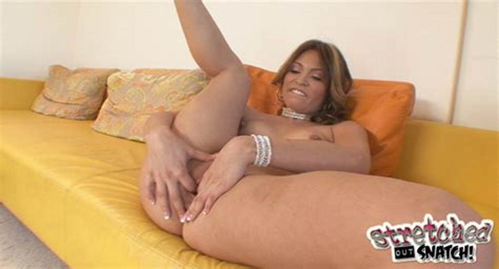 #Stretched #Out #Snatch #Thea #Marie #Thea #Marie #Tears #Into #Her