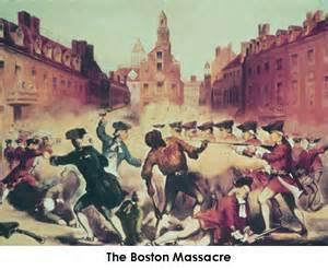 Boston Massacre Townshend Acts