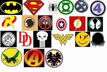 Superhero Symbols Quiz Insignia Logos Hero Names