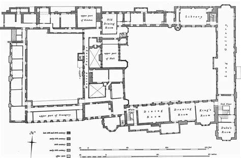 Apethorpe Hall First Floor Plan Inspiration For