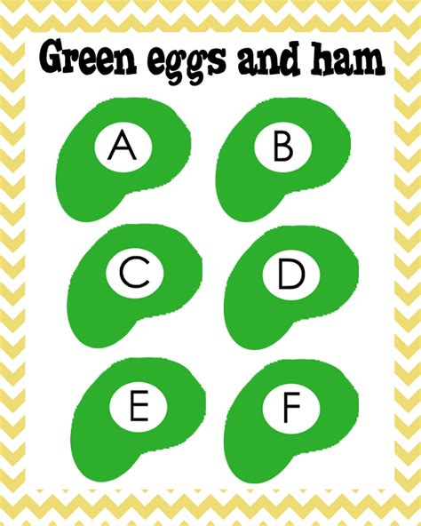 s is for seuss school unit 319 | green eggs sample