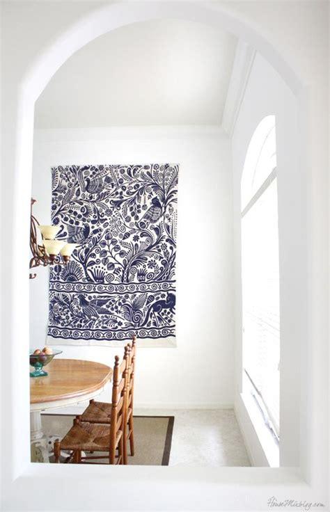 hang  rug   wall  art big blank wall