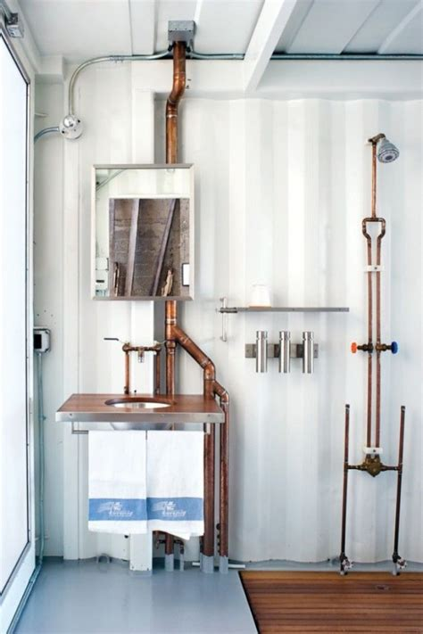 industrial bathroom designs  vintage  minimalist chic digsdigs