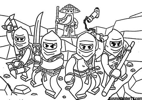 Ninjago Ausmalbilder Zum Ausdrucken