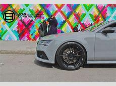 Nardo Gray Audi RS7 Rides on ADV1 Wheels autoevolution
