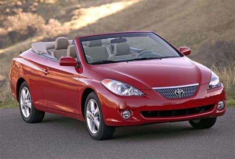 toyota wont restart production  camry solara convertible
