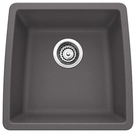 blanco 440078 17 quot x17 5 quot granite single undermount kitchen