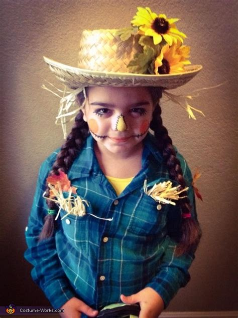 cute scarecrow girls halloween costume