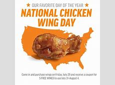 National Chicken Wing Day Deal Events Orlando Weekly