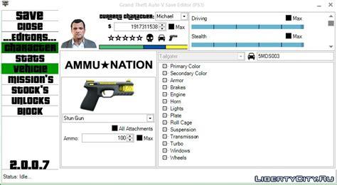 GTA 5 Save Editor for GTA 5