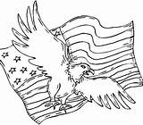 Symbols American Coloring Native Pages Eagle Patriots Patriot Flag Drawing Printable Revolution Trade Center German Kachina Indian Shepherd Patriotic Colouring sketch template