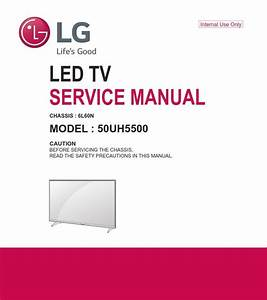 Lg 50uh5500 4k Uhd Smart Led Tv Original Service  Repair