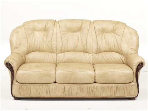 canapé et fauteuil canapé et fauteuil en 100 cuir et 3 coloris debora