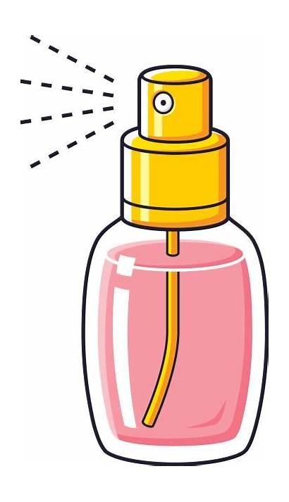 Perfume Clipart Bottle Spray Fragrance Clip Cartoon