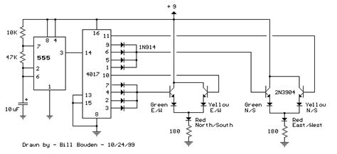 Traffic Light Circuit All About Circuits