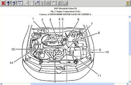 2003 3 8 Mitsubishi Wire Diagram by Zand Belt Routing Diagram For 03 Mitsubishi