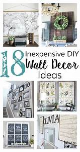 Inexpensive Wall Decor Home Decor