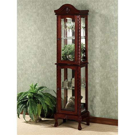 small wall curio cabinet top small curio cabinets on vancouver wall display curio