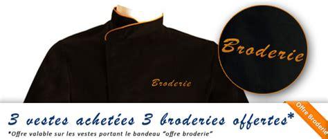 acheter tablier cuisine veste de cuisine personnalisée brodée broderie manelli