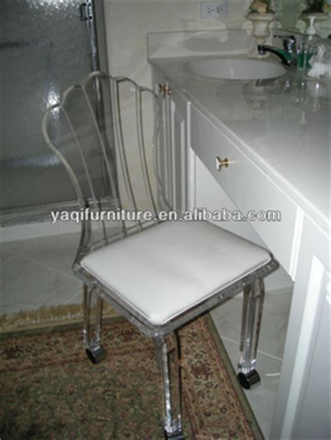 acrylic vanity chair with wheels buy vanity stools