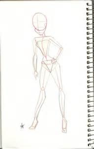 Winx Body Base Drawing