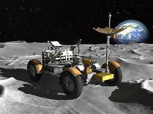 3d model car rover apollo