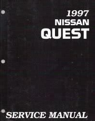 car repair manuals online pdf 1997 nissan quest free book repair manuals 1997 nissan quest factory service manual