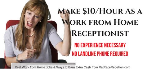 virtual receptionist jobs 10 hour as a work from home receptionist no experience