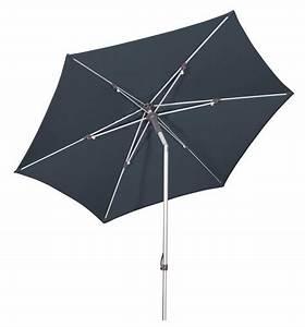 Uv Standard 801 Sonnenschirm : goodsun sonnenschirm push up anthrazit 260 cm rund gestell alu stahl kunststoff ~ Sanjose-hotels-ca.com Haus und Dekorationen