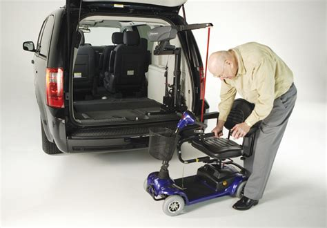 lift that big powered wheelchair with bruno s