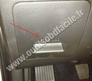 Obd2 Connector Location In Hyundai I30  2012
