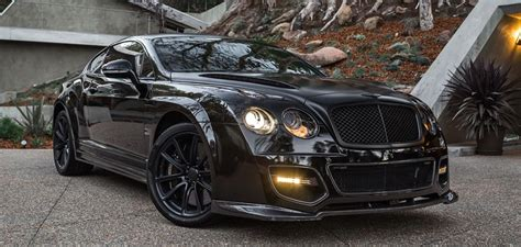 blacked  bentley continental supersports  sale